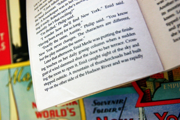 from Candace Bushnell's 'One Fifth Avenue'