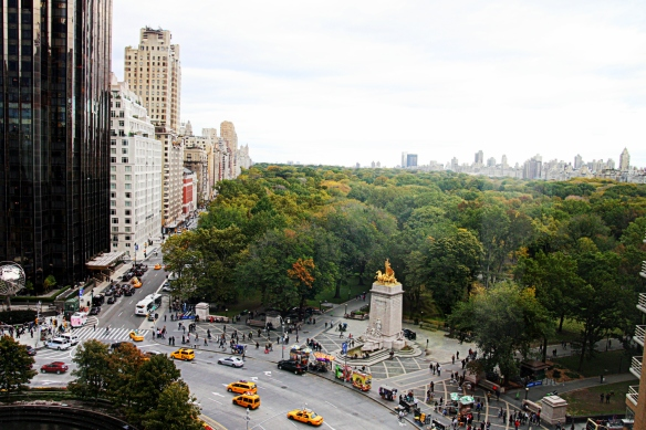 Columbus Circle to Central Park