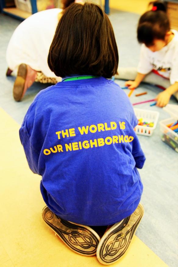 the world is our neighbourhood
