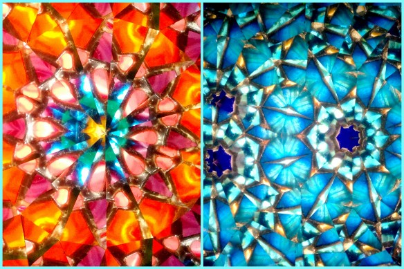 patterns as seen through my kaleidoscope