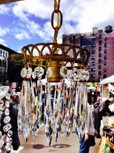 prismatic chandelier