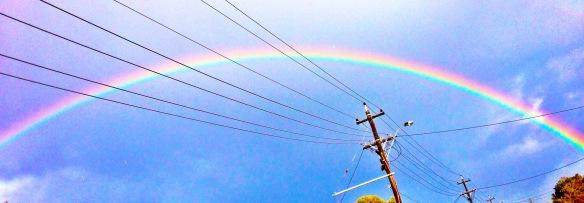 suburban rainbow