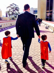 my three superheroes