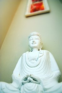 buddha, by @debsnet