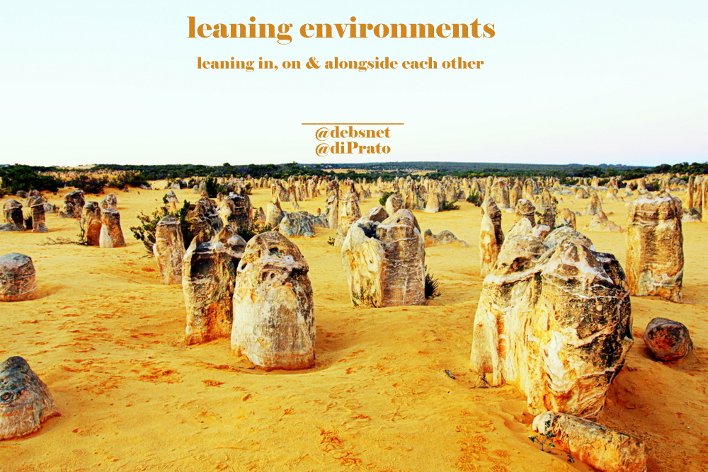 #leaningenvironments - evolution of a new edu-revolution?