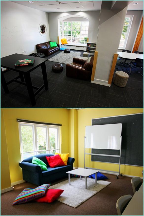 comfy classroom spaces