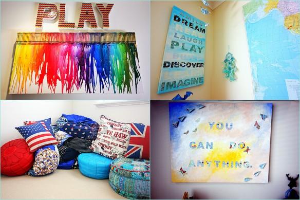 DIY artwork & soft furnishings