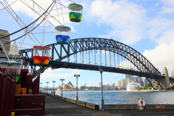 Luna Park, Opera House, Harbour Bridge