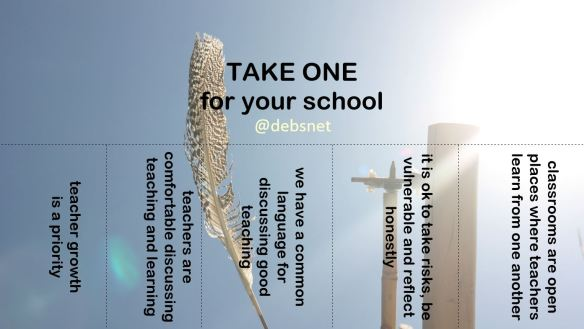 'Take one' (or take all!) for your school