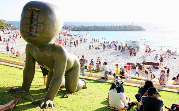 Sculpture by the Sea, Cottesloe, by @debsnet