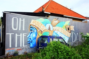 Oh the places you'll go! Canggu mural