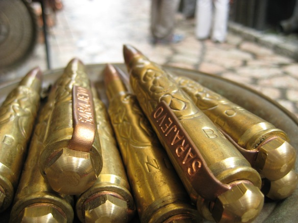 Sarajevo bullets, by @debsnet