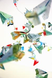 paper planes by @debsnet