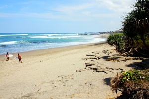 Canggu beach, by @debsnet