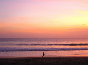 Seminyak sunset, by @debsnet