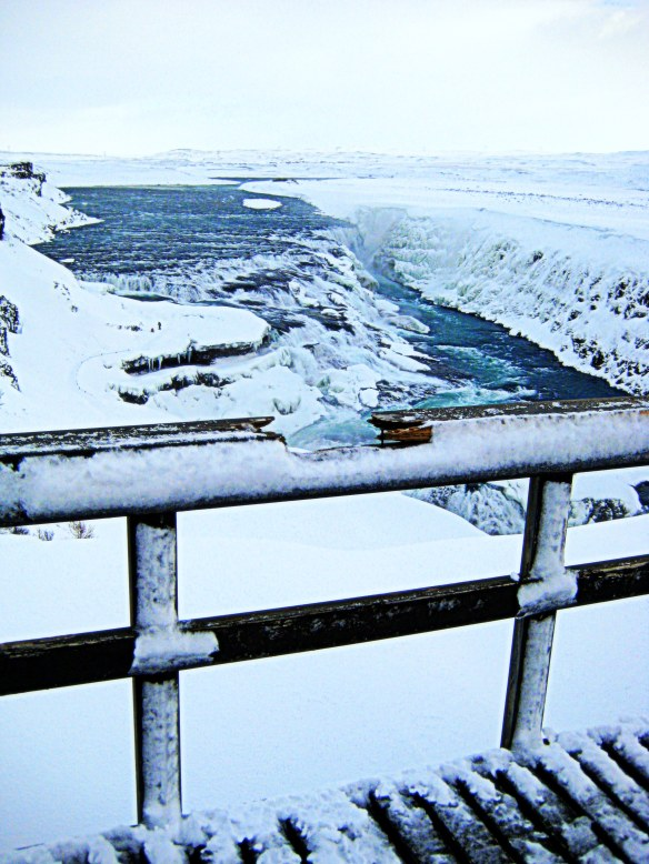 Gullfoss waterfall ~ take time to pause, reflect & see how far you've come