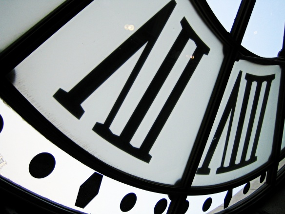 Musée d'Orsay clock - the neverending tick tick of the PhD