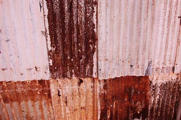iron corrugations, by @debsnet