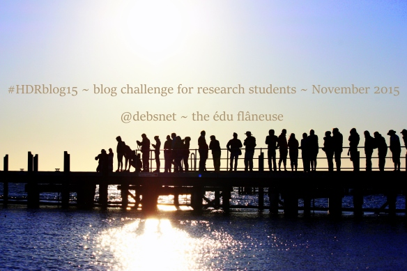 Get involved! Let's learn together with #HDRblog15
