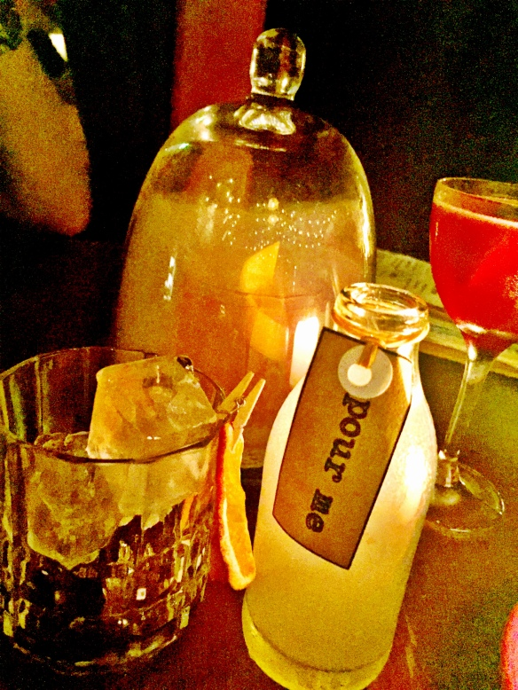 I came across this 'Pour Me' cocktail the night of this Twitter conversation. Coincidence?
