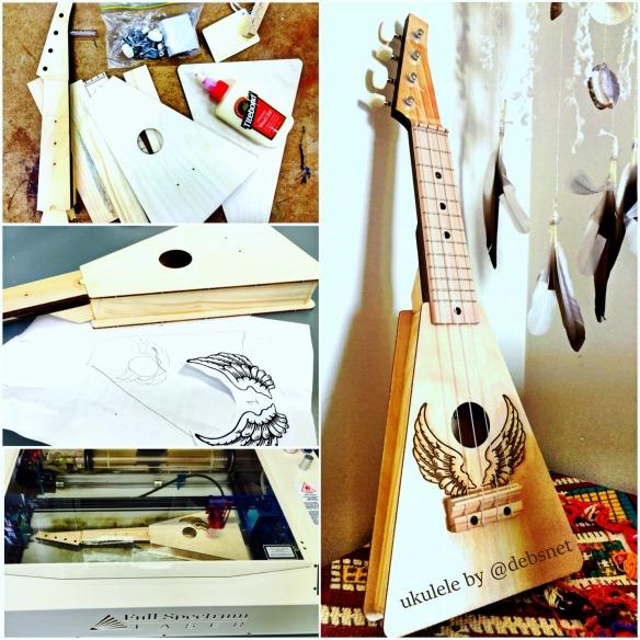 my ukulele from kit to finished product