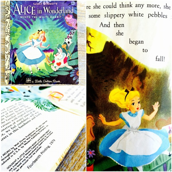 my original copy of the Alice Golden Book