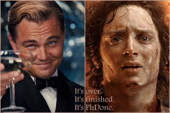 Jay Gatsby & Frodo Baggins as metaphors for doctoral completion