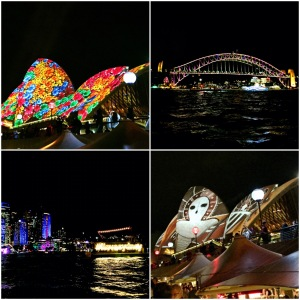 lucky enough to catch Vivid Sydney while we were there