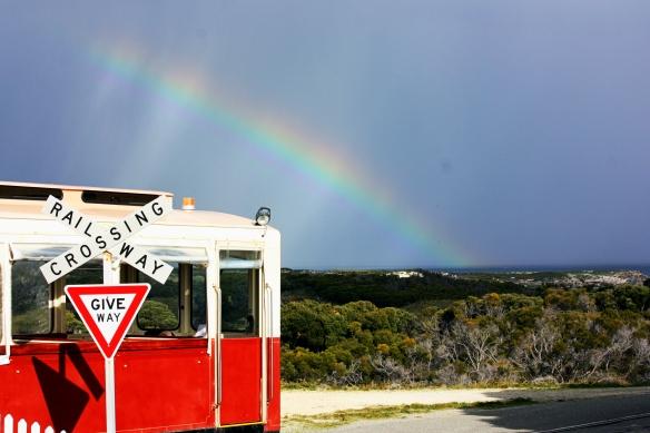 Rottnest rainbow, by Deborah Netolicky
