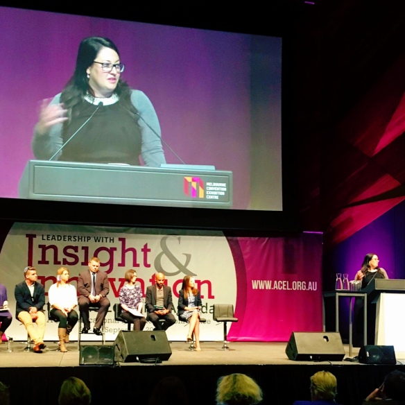 speaking yesterday at the Melbourne Convention Centre