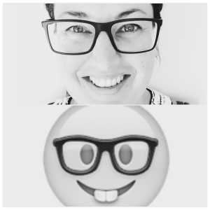 Achievement unlocked: I think I am Nerd Face Emoji.