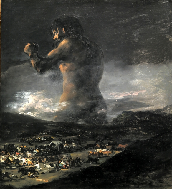'The Colossus', by Francisco de Goya