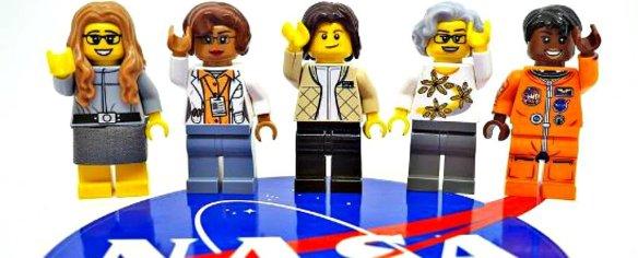 LEGO's new Women of NASA figures; source: sciencealert.com