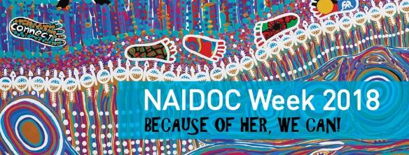 NAIDOC Week Banner 2018