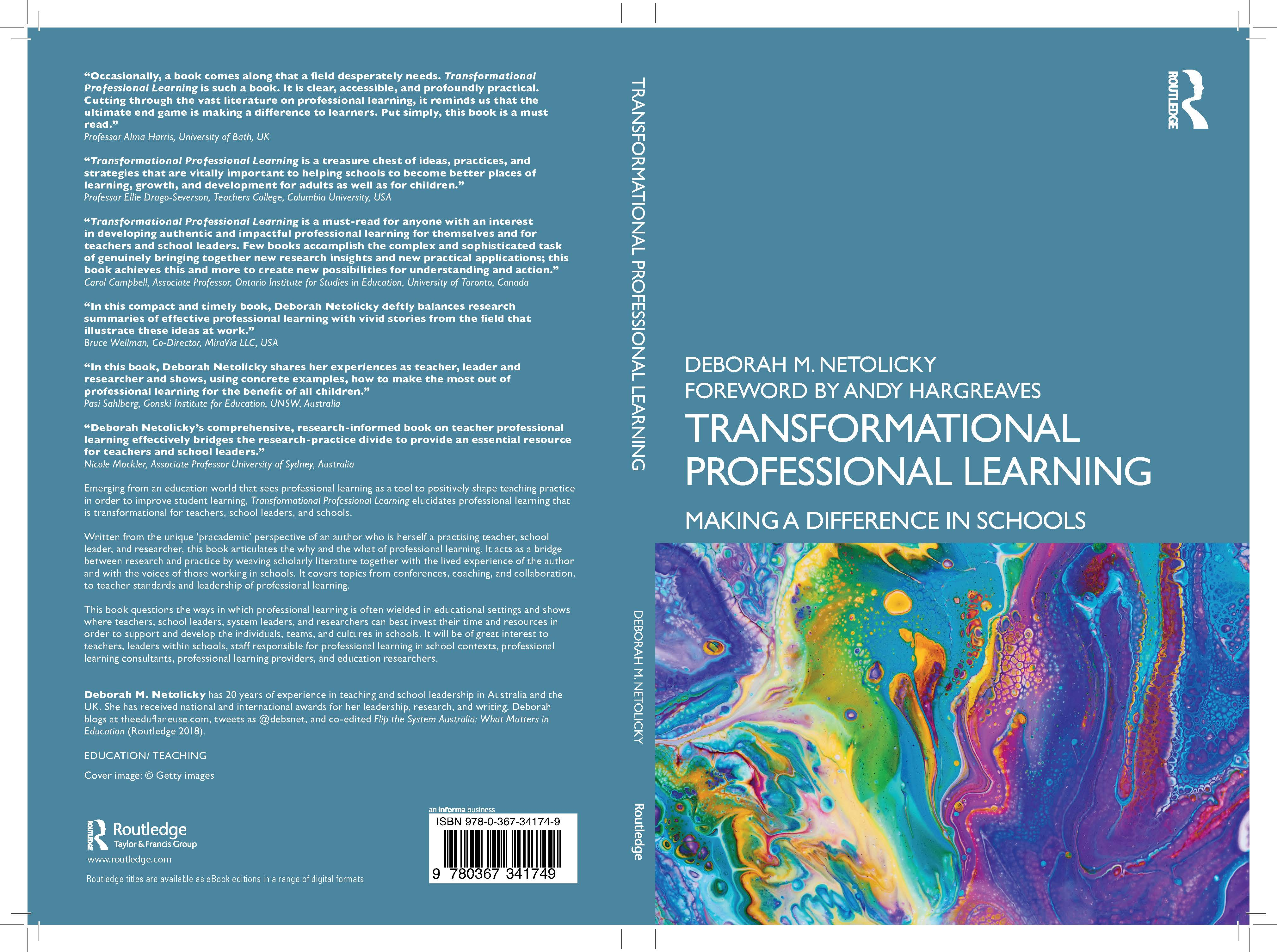 FULL COVER TransformationalProf Learning